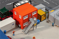 4 Baucontainer, orange